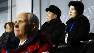 Amerika offen für Nordkorea-Gespräche ohne Vorbedingungen
