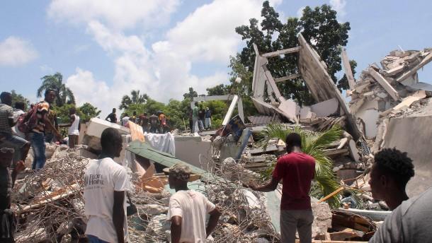 Zahl der Toten in Haiti steigt an