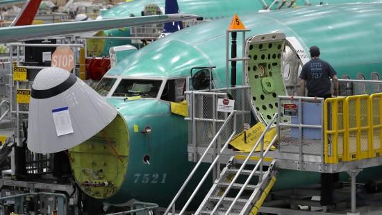 Software-Update für 737 MAX
