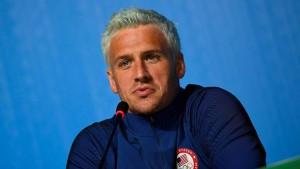 Anklage gegen Schwimmer Lochte wegen Falschanzeige