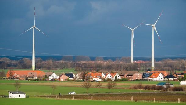 Koalition einig über Mindestabstand von Windrädern
