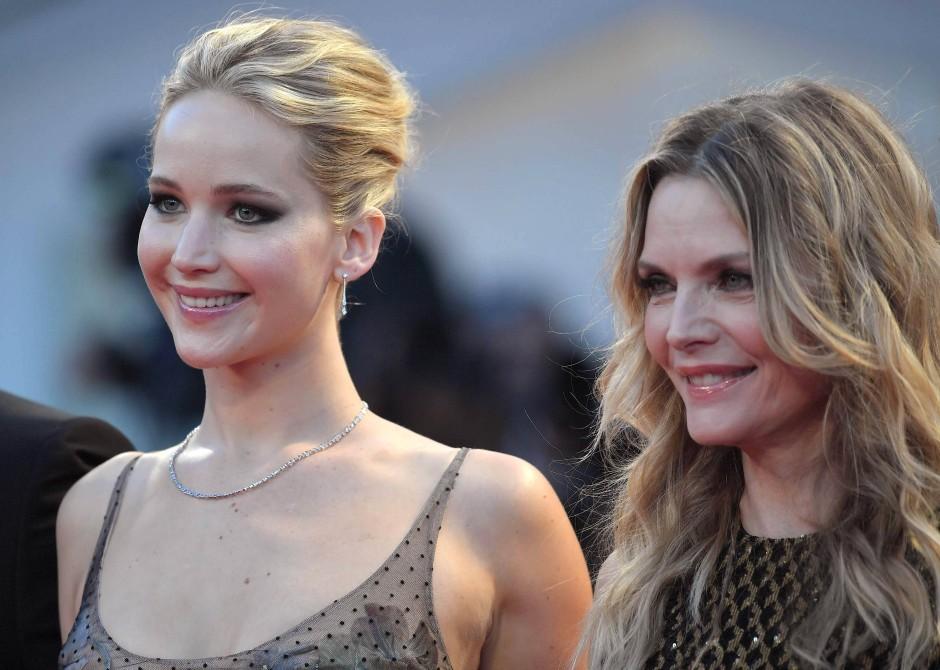 """Michelle Pfeiffer mit Jennifer Lawrence: """"Oft sehe ich einfach nur alle meine Fehler."""""""