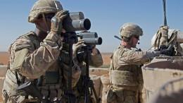 200 amerikanische Soldaten sollen in Syrien bleiben
