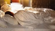 Wer lange schläft, ist nicht faul