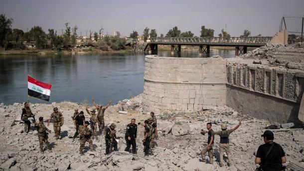 Irakische Armee meldet weiter schwere Gefechte in Mossul