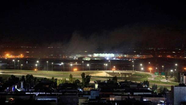 Amerikanischer Zivilist bei Raketenangriff im Nordirak getötet