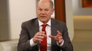 Scholz: Denke nicht über Rücktritt nach