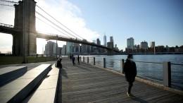 """New York ist """"Hochrisikogebiet"""""""