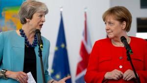 Merkel empfängt britische Premierministerin May am Dienstag