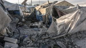 Raketenangriff in Syrien fordert 15 Tote