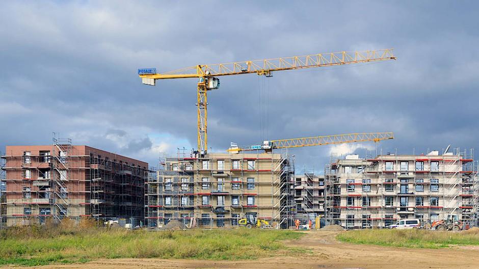 Etwa 1,2 Millionen neue Wohnungen werden in dieser Legislaturperiode gebaut. Das Ziel der Bundesregierung waren 300.000 mehr.