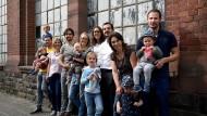 Gekommen, um zu bleiben: Vier Familien wollen gemeinsam in Frankfurt ein Haus bauen.