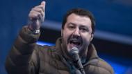 Der Kurs des Lega-Nord-Vorsitzenden Matteo Salvini ist auch innerhalb seiner Partei umstritten.