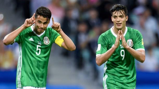 Mexikos mühsamer Sieg gegen Neuseeland