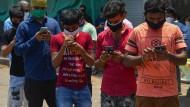 Mehr als 100 Millionen Inder haben die Corona-App schon runtergeladen