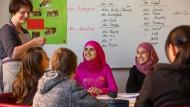 Flüchtlingskinder aus Syrien erhalten Deutschunterricht in Parchim