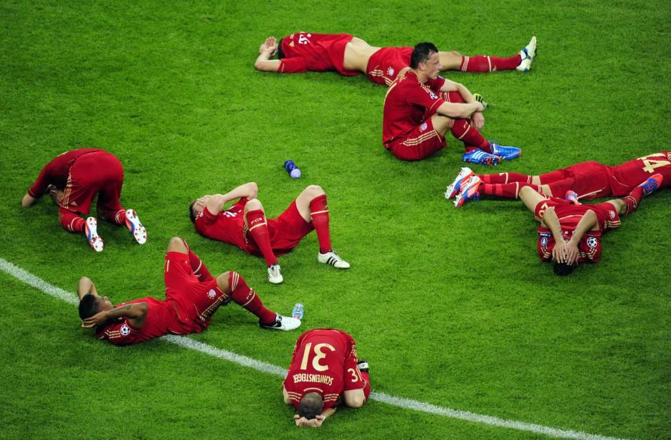 Kollektiv im Kopf gehemmt? Bayern-Spieler nach dem verlorenen Champions-League-Finale