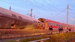 Entgleister Zug war mit 290 Stundenkilometern unterwegs