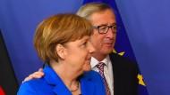 In Berlin wächst der Unmut über Juncker
