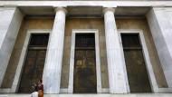 Die Bank von Griechenland in Athen