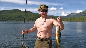 Die meisten auf der Welt trauen Putin nicht
