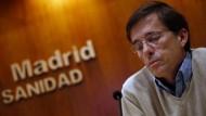 Fünf Menschen wegen Ebola in Madrider Klinik