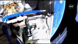 Außendienst an der Internationalen Raumstation
