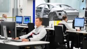 Produktionsausfall bei Porsche