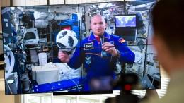 Alexander Gerst berichtet von der ISS
