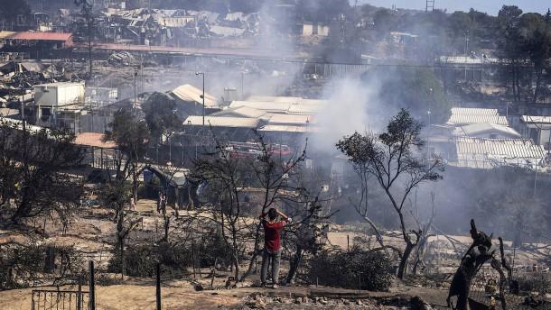 Bislang keine Hinweise auf Todesopfer durch Brand