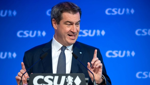 """Söder fordert """"führende Rolle"""" für Weber in Europa"""
