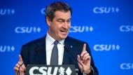 Söder fordert eine führende Position für EVP-Chef Manfred Weber