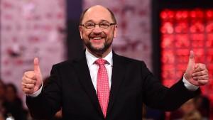 Schulz ist das Programm