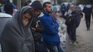 Auf dem Weg nach Deutschland: syrische Flüchtlinge in Serbien