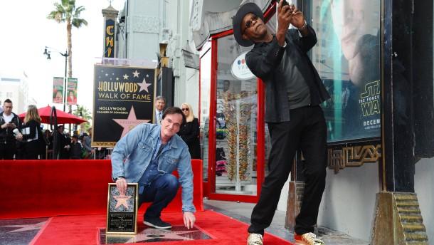 Tarantino verewigt sich auf der Ruhmesmeile