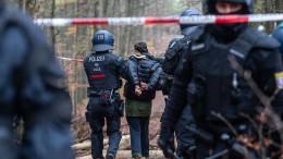 Mehrere Festnahmen im Dannenröder Forst