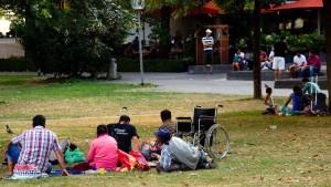 Die Armut Südosteuropas hat den Schlossgarten erreicht