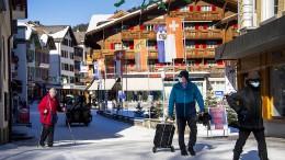 Schweizer müssen zu Hause arbeiten – dürfen aber Skifahren