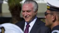 Brasiliens Präsident Temer entgeht Verurteilung