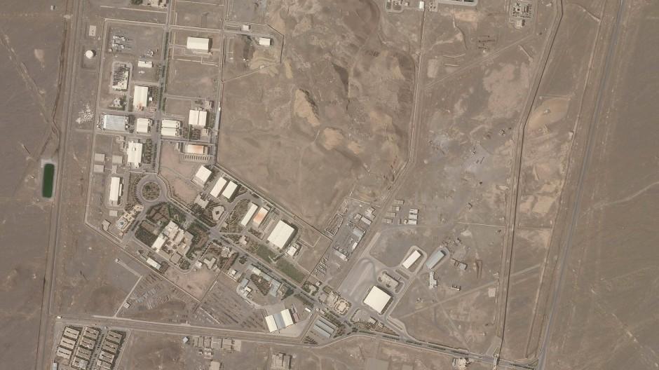 Satellitenbild: Die iranische Atomanlage Natans