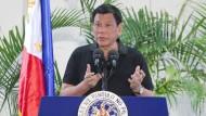 Präsident Duterte vergleicht sich mit Hitler