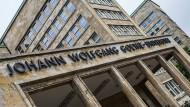 Endgültige Entscheidung: Die Frankfurter Goethe-Uni hat auf die Aussagen von Egbert Jahn reagiert.