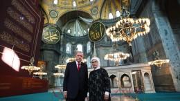 Warum in der Hagia Sophia wieder gebetet wird
