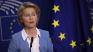 Entscheidung für Europa: Ursula von der Leyen will EU-Kommissionschefin werden.