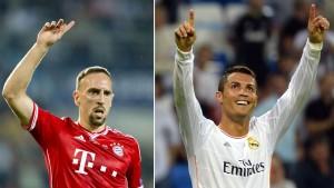 Ribéry fordert Ronaldo