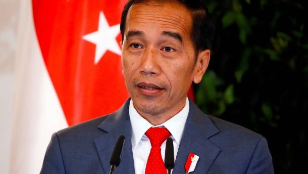 Indonesiens heftig umkämpftes Gesetz