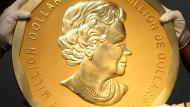 Unbekannte stehlen 100-Kilogramm-Münze in Berlin