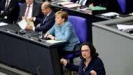 Nur im Kampf gegen rechts sind die SPD und die CDU auf einer Wellenlänge.