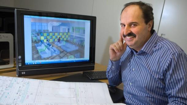 Johann Lafer - Der Spitzenkoch plant den Bau einer Schulmensa in Bad Kreuznach und spricht mit David Klaubert über den Betrieb des Modellprojektes.
