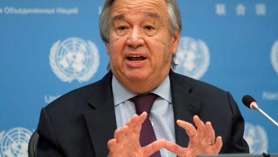 UN-Generalsekretär fordert Ausrufen des Klima-Notstands